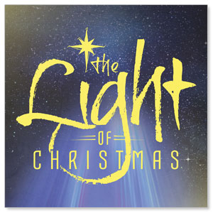 The Light of Christmas Window Banners