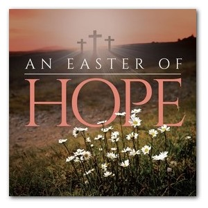 Easter Hope Daisy Window Banners