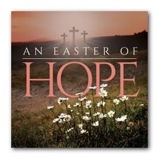 Easter Hope Daisy Window Banner
