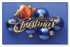 Christmas Ornament WallBanners
