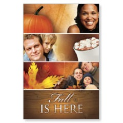 Fall is Here WallBanners
