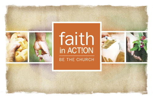 Banners, Faith in Action, Faith in Action Difference, 5' x 8'