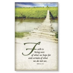 Scripture Heb 11:1 WallBanners