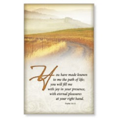 Scripture Psalm 16:11 WallBanners