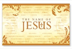 Name of Jesus Banners