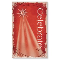 Christmas Star Red  WallBanners