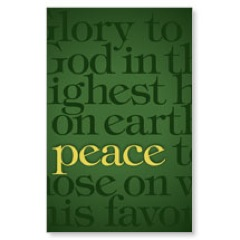 Luke 2 Green WallBanners