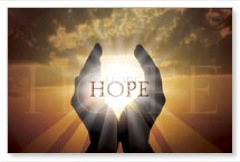 Hope Hands WallBanners