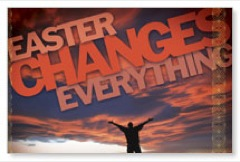 Easter Changes Everything Banners