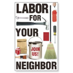Labor for Your Neighbor WallBanners