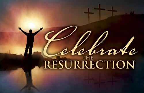Banners, Easter, Celebrate Resurrection, 5' x 8'