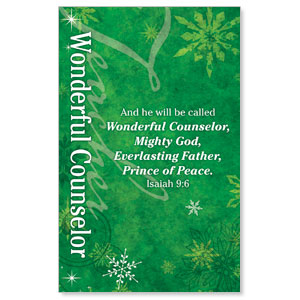 Isaiah 9 Counselor WallBanners