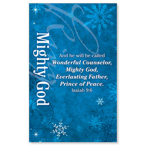 Isaiah 9 Mighty God WallBanners