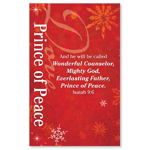 Isaiah 9 Peace WallBanners