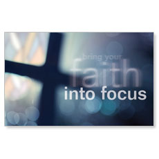 Faith into Focus Banner