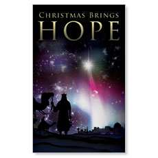 Christmas Brings Hope Banner