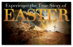 True Story Easter WallBanners