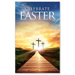 Easter Crosses Path WallBanners