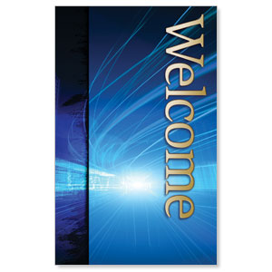 Light Rays Welcome WallBanners