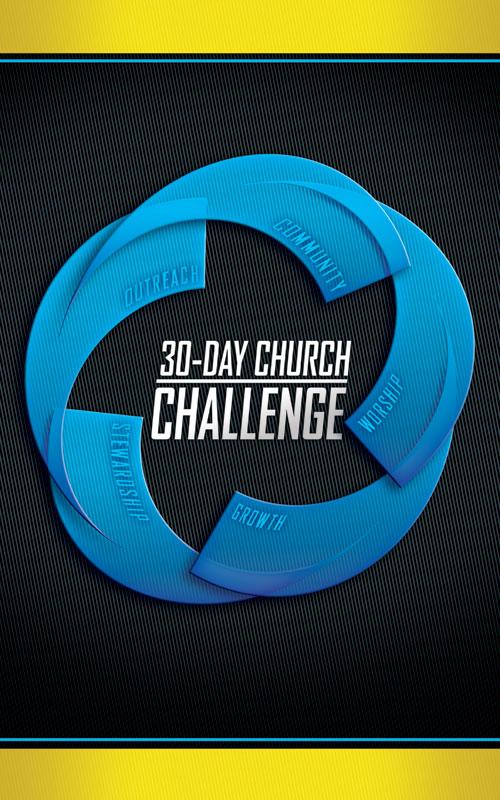 30 Day Church Challenge Banner Church Banners Outreach