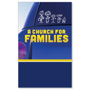 Church for Families  WallBanners