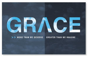 Grace: Max Lucado WallBanners