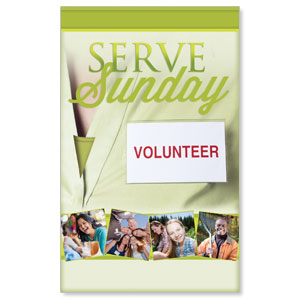 Wow! Sunday Serve Sunday Banners