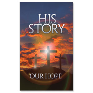 His Story Our Hope Banners