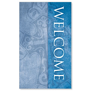 Cross Welcome WallBanners