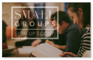 Small Group Sign Up Banners