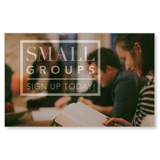 Small Group Sign Up Banner