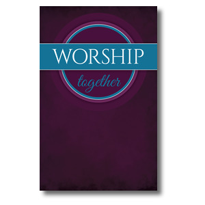 Together Circles Worship WallBanners