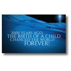 2000 Years Ago Banner