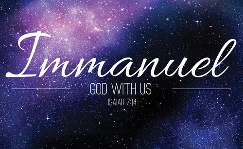 Immanuel Isaiah 7 14 Banner Church Banners Outreach