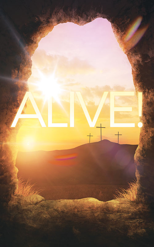 Banners, Easter, Alive Sunrise Tomb, 5' x 8'