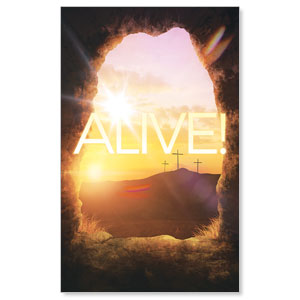 Alive Sunrise Tomb WallBanners