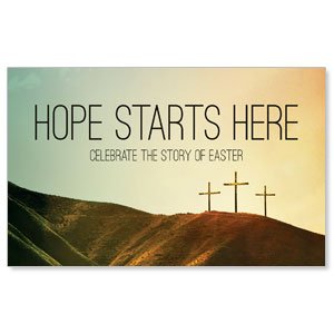 Hope Starts Here Calvary WallBanners