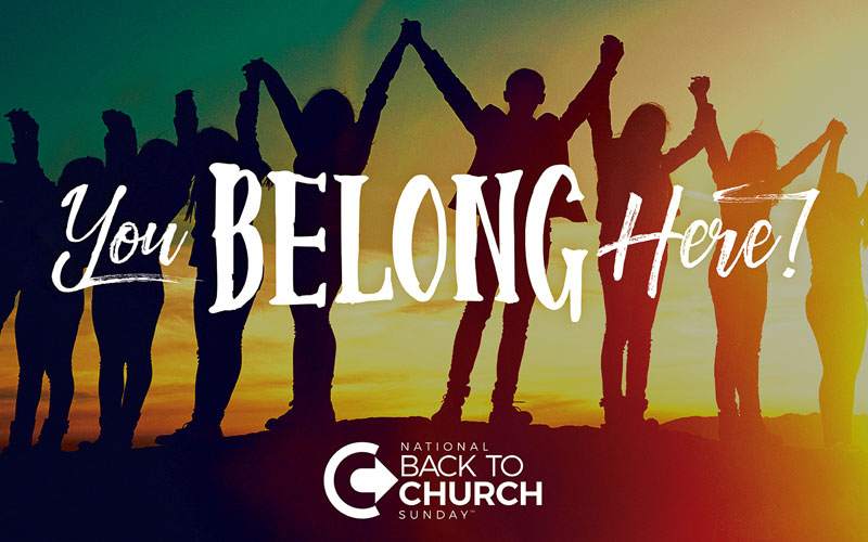 Btcs You Belong Here Banner Church Banners Outreach