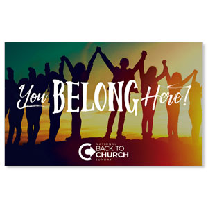BTCS You Belong Here WallBanners
