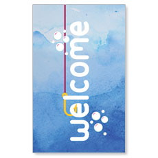 Ocean Buddies Welcome Banner