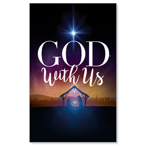 God With Us Advent WallBanners