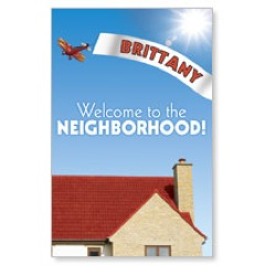 WelcomeOne Plane New Mover Card