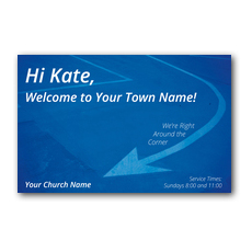 WelcomeOne Around the Corner New Mover Card