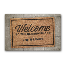 WelcomeOne Welcome Mat New Mover Card