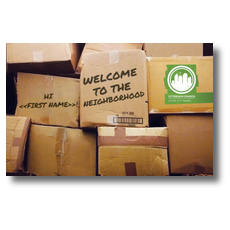 WelcomeOne CityReach Stacked Boxes New Mover Card