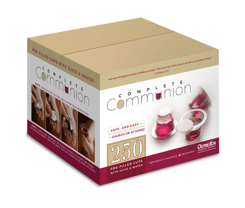 Safety Products, Safety, Complete Communion Cups - Pack of 250