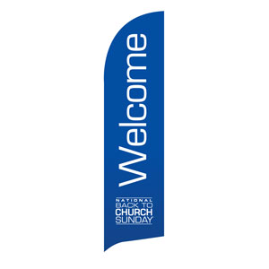 Back To Church Logo Banners