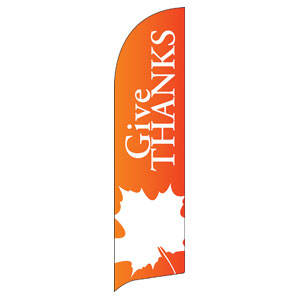 Thanksgiving Flag Banner Flag Banner