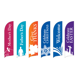 Special Sunday Flag Banner Set Banners