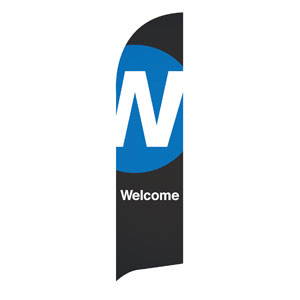 Metro Welcome Flag Banner